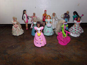 Barbie Minatures from McDonalds