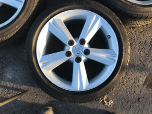 "17"" Toyota Maxtix XR rims & tires $650"