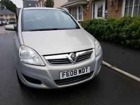 Vauxhall zafira, 1.6, 7seater, long mot, tidy £1100 ono