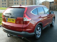 2012 62 REG HONDA CR-V 2.0 i-VTEC ( 155ps ) 4X4 AUTOMATIC EXECUTIVE++TOP SPEC++
