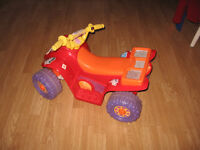 Dora the Explorer Power Wheels 4 Wheeler for sale