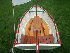 Restored Historical Wooden Boat