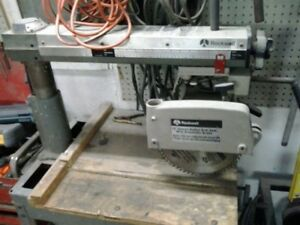 10 radial arm saw and stand