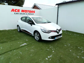 2014 RENAULT CLIO 1.2 16v MEDIA-NAV DYNAMIQUE 5 DOOR,ONLY 23000 MILES WITH FSH