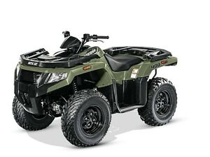 2016 Arctic Cat Alterra 400 Forest Green