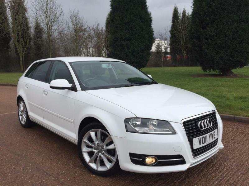 2011 11 reg audi a3 white 1 4 tfsi sport back in exhall west midlands gumtree. Black Bedroom Furniture Sets. Home Design Ideas