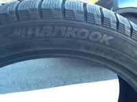 "4 winter tires 18"""