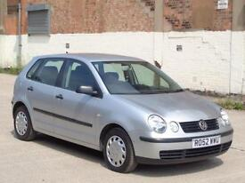 2002 VOLKSWAGEN POLO 1.2 5dr***LOW MILES 75K + BARGAIN***