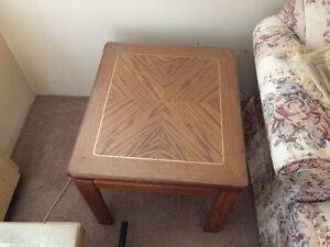 coffee table with 2 end table set