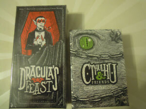 Dracula's Feast + Cthulhu & Friends Expansion [New Board Game]