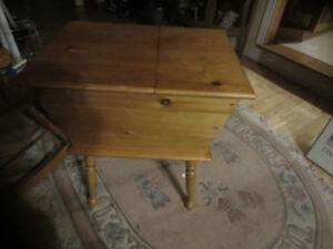 pine dough box