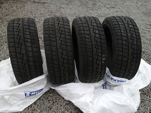 """BARGAIN: """"ALMOST NEW"""" SNOW TIRES FOR SALE"""