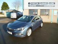 2017 Vauxhall Astra 1.4T ELITE NAV S/S AUTO Petrol blue Automatic