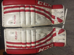 CCM Extreme flex goalie pads and blocker and glove