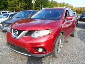 2014 Nissan Rogue SL AUX! LEATHER! KEYLESS ENTRY!