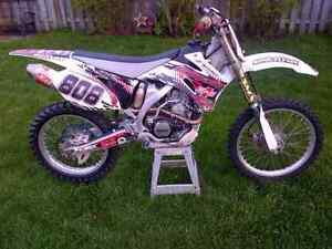2008  250 YZF YAMAHA Rebuilt Engine Mint Condition