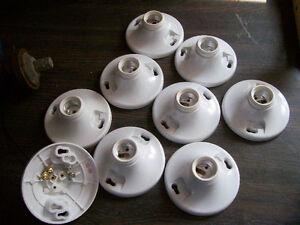 9 douilles sans intérupteur pour ampoule
