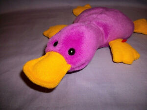Brand new with tags TY Beanie Babies Patti Platypus plush toy London Ontario image 2