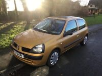 2003 Renault Clio 1.4 Expression Auto-41,000-12 months mot-great reliable value