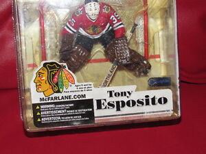 Tony Esposito CHICAGO BLACKHAWKS NHL Legends Series 3- K31#