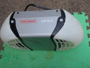 Craftsman 1/2 hp ouvre porte electrique / garage door opener