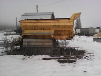 Box for sand truck