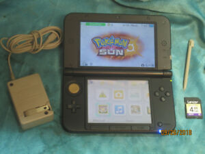 SOLD 3DS XL Red with 4GB Stylus & Charger old firmware