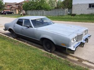 1976 Mercury montego (with bullet proof windows)