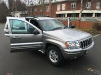 LPG LOW PRICED GAS Jeep Grand Cherokee 4.0 auto Limited. HEATED SEATS TOP SPEC.
