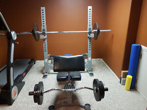 Nautilus Bench and Weights