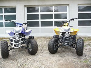 NEVER BEEN OFF-ROAD, LIKE NEW - 2 YOUTH ATV'S