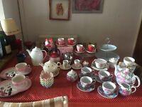 Afternoon tea items