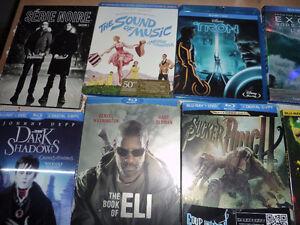et pleins de bluray et 2 séries télé + 1 dvd de RBO
