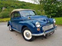 MORRIS MINOR 1000 Factory tourer, lots and lots of work carried out