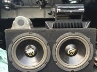 Subs amp and DVD player