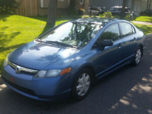 Honda Civic 2008 Automatique, 4 portes