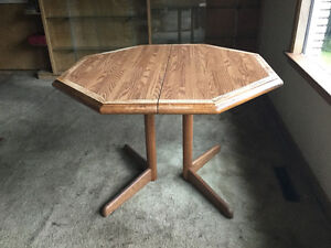 Wood kitchen/dining table