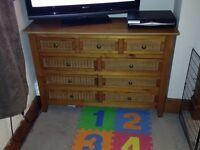 Bedroom wooden furniture set