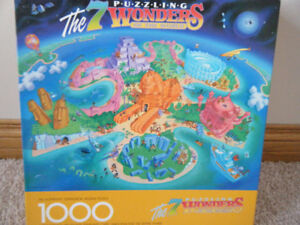 The 7 puzzling mysteries of the world-Springbok Jigsaw Puzzle
