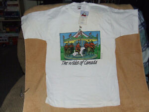 The Wilds Of Canada T-Shirt - From The 90's - NWT - $30.00 Belleville Belleville Area image 1