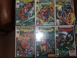 Spider-Man 1990 #1-16 3 different Issue #1 covers Kitchener / Waterloo Kitchener Area image 2