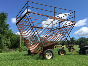 BALE BASKET and CULTIVATOR