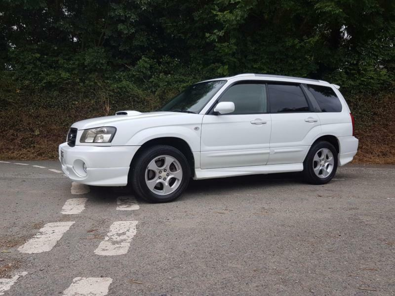 2002 02 subaru forester xt 2 0 turbo jdm aspen white. Black Bedroom Furniture Sets. Home Design Ideas