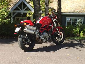 Ducati Monster Mint.