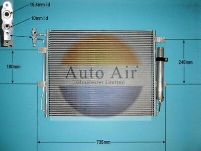 Fit with LAND ROVER RANGE ROVER SPORT Condenser air conditioning 16 9952 36L