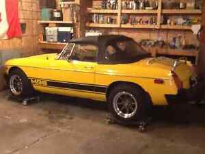 1978 MG MGB Convertible
