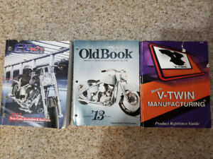 Vintage parts catalogs for harley type bikes