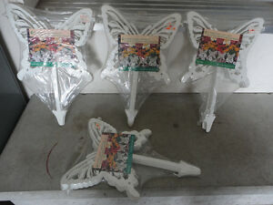 Lot of 4 packs of butterfly lawn decor Brand new