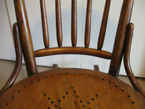 Old, wooden rocking chair Prince George British Columbia image 7