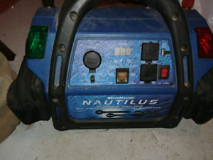 Nautilus battery charger/generator